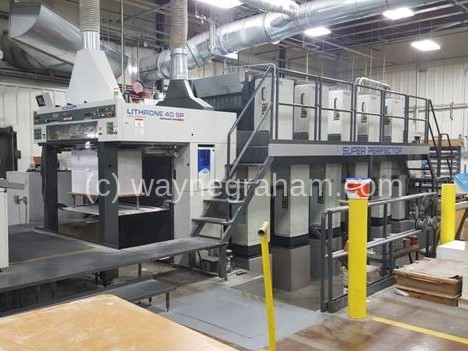 Image of Used Komori Lithrone 540 SP Ten Colour Printing Press For Sale