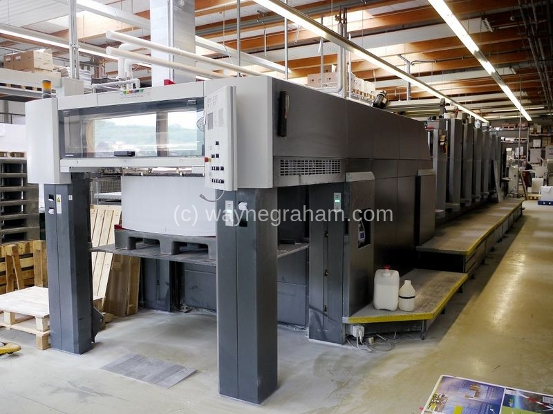 Image of Used Heidelberg Speedmaster CD 102-6-LX Six Colour Printing Press With Coating Unit For Sale