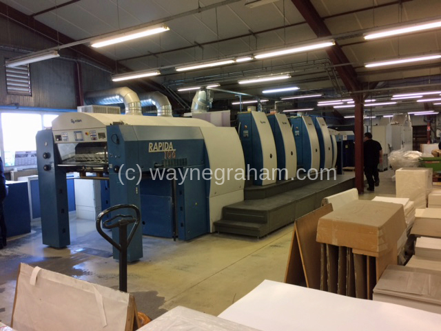 Bild der gebrauchten KBA Rapida 106-4 Vierfarbdruckpresse