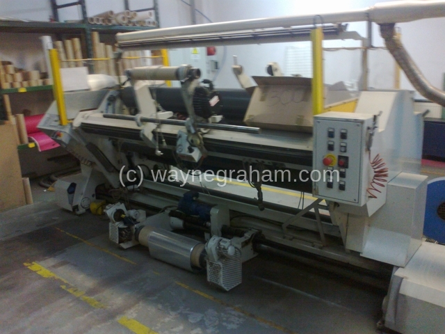 Image of Used Sage RP 60 Slitter Rewinder For Sale
