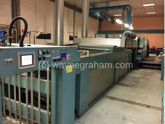 Image of Used Roland Rekord RVK 3B-E Four Colour Printing Press With UV Dryer For Sale