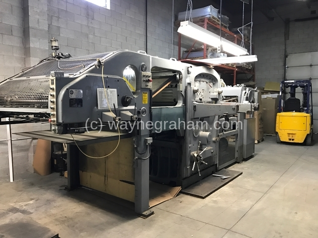 Image of Used Bobst SP 1260-E Die Cutter With Stripping Unit For Sale