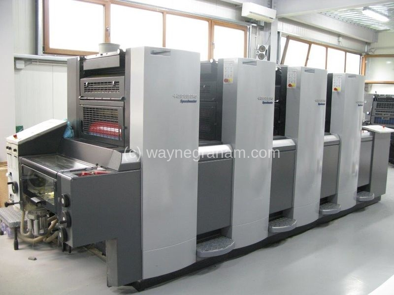 Foto von Gebrauchte Heidelberg Speedmaster 52-4 Four Colour Printing Press