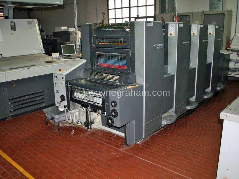 Foto von Gebrauchte Heidelberg Speedmaster 52-4 Four Colour Printing Press