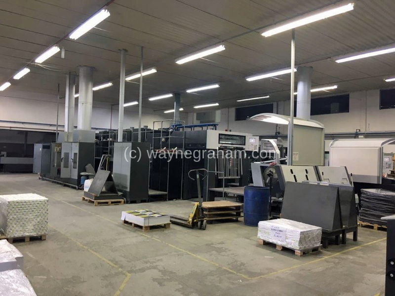 Image of Used Heidelberg Speedmaster CD 102-4-L Four Colour Printing Press With Coating Unit