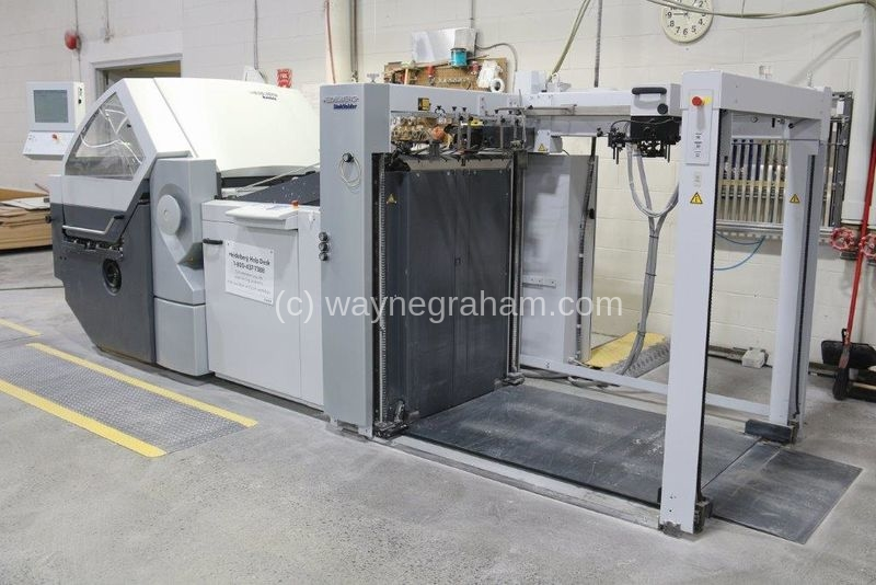 Image of Used Heidelberg Stahlfolder KH 82 Folder