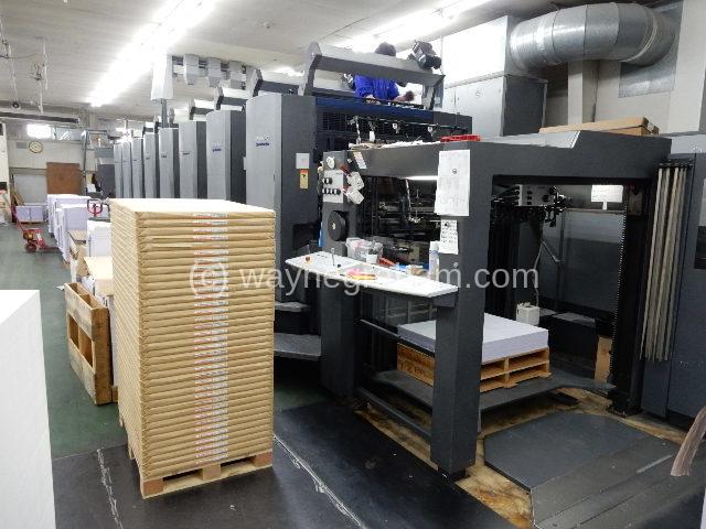 Image of Used Heidelberg Speedmaster 102-8-P-S Eight Colour Printing Press