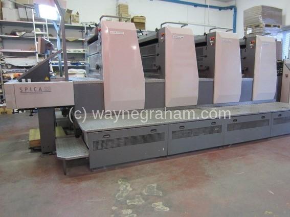 Foto von Gebrauchte Komori Spica 429 Four Color Printing Press