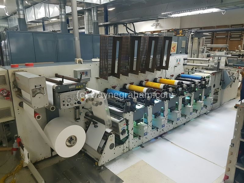 Image of Used Gidue Combat 530 Flexographic Labels Web Press