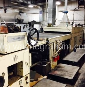 Image of Used Brausse-Hock HUC-45 CDW Flood UV Coater