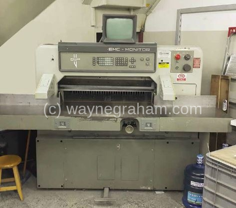 Image of Used Polar 92 EMC-MON Guillotine