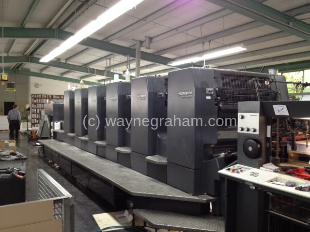 Image of Used Heidelberg Speedmaster 102-6-P Six Colour Printing Press
