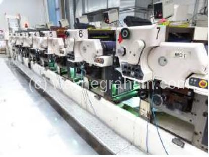 Image of Used Nilpeter MO-3300 Label Web Press