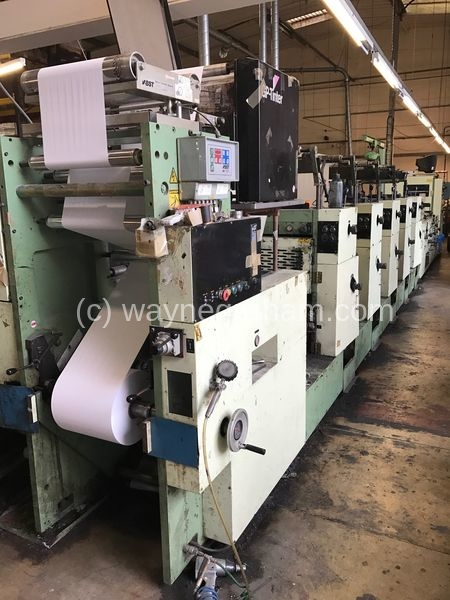 Image of Used Miyakoshi MBF 18 Continuous And Business Forms Press