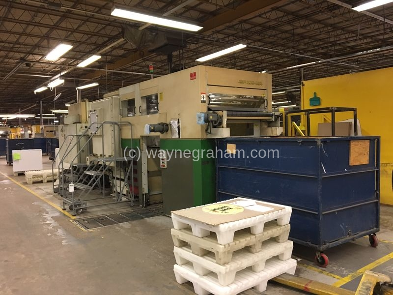 Image of Used Bobst SP 103-ER Die Cutter With Stripping And Blanking Units