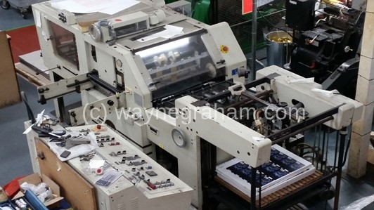 Image of Used Gietz FSA 790 MFF Hot Foiling Machine