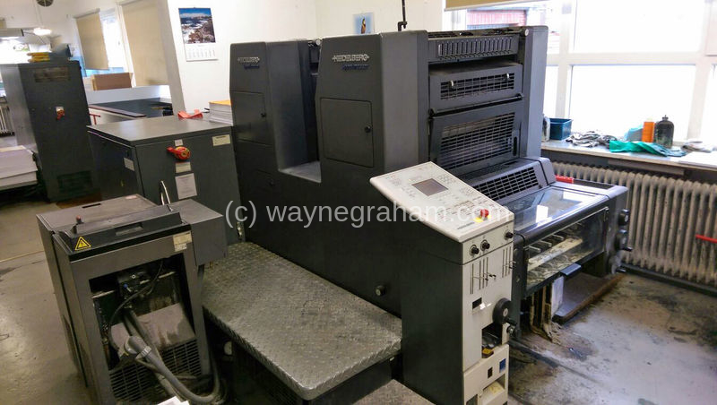 Image of Used Heidelberg Speedmaster 52-2-P Two Colour Printing Press