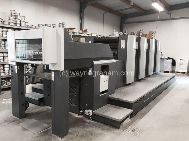 Image of Used Heidelberg Speedmaster 74-4-P-H Four Colour Printing Press