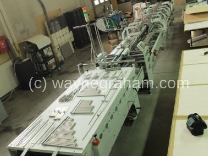 Image of Used Versor Passio 100 Folding Carton Gluer
