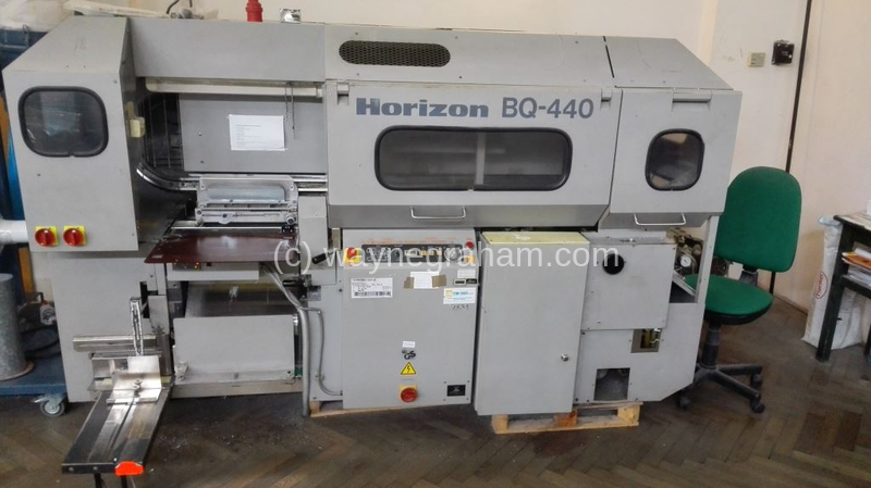 Image of Used Horizon BQ-440 Perfect Binder