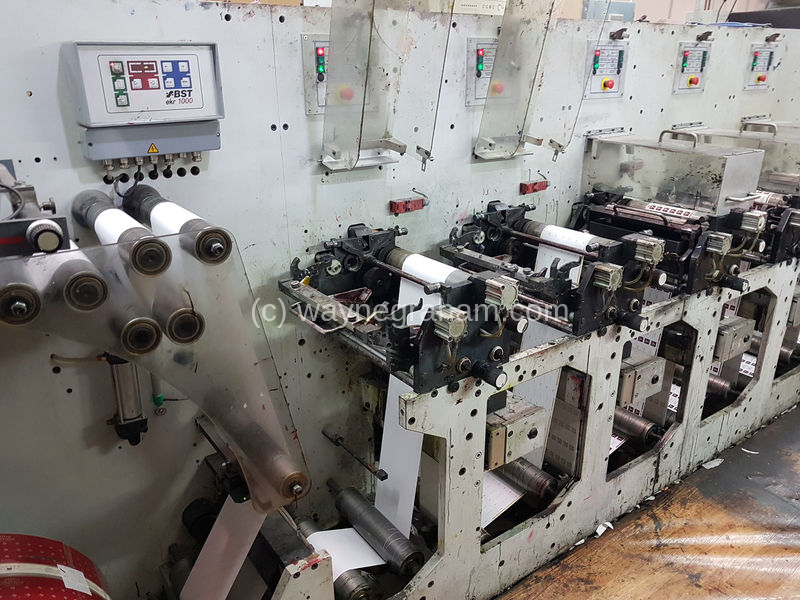 Image of Used Gidue Combat 280 Flexographic Labels Web Press