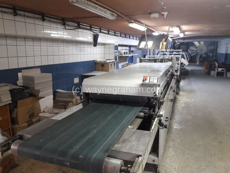 Image of Used Omega Allpro 110 Folding Carton Gluer