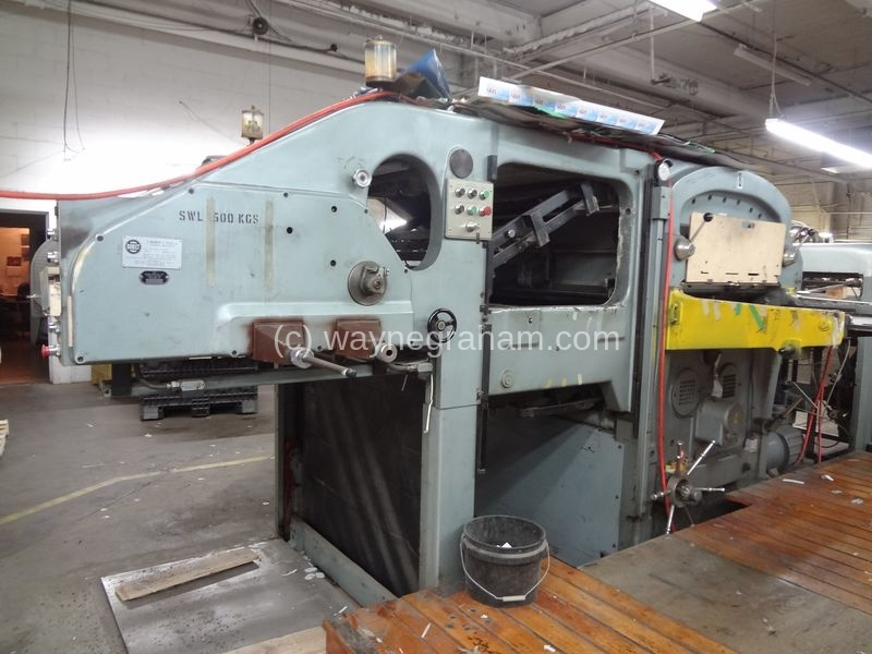Image of Used Bobst SP 1260-E Die Cutter With Stripping Unit