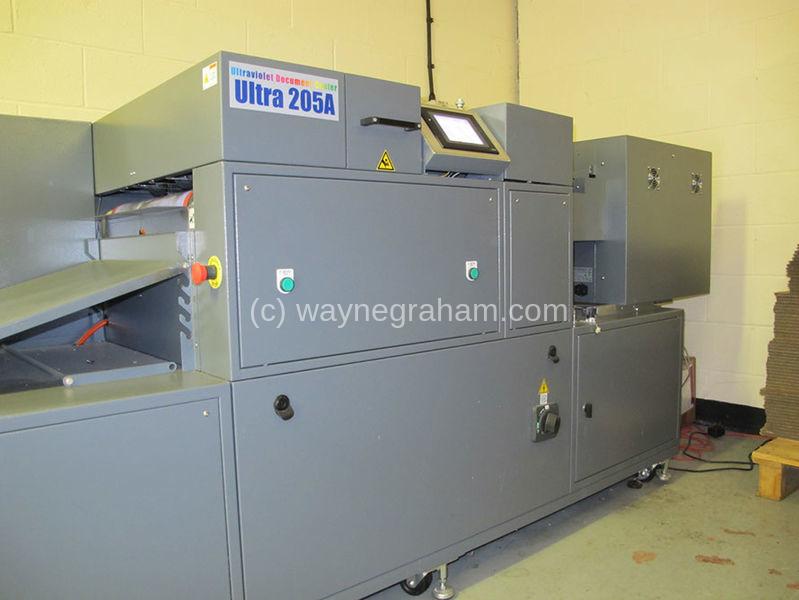 Bild von Gebrauchte Duplo Ultra 205A IR und UV-Beschichtungsmaschine