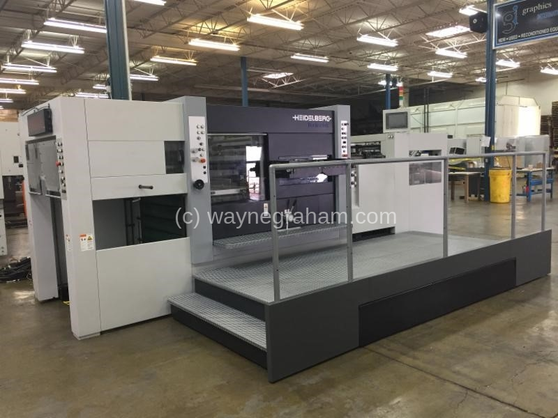 Image of Used Heidelberg Varimatrix 105 CS Die Cutter With Stripping Unit