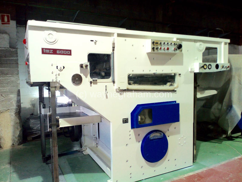 Image of Used TMZ 6000 E-106 Die Cutter