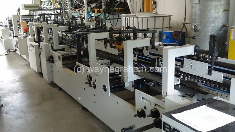 Image of Used Bobst Domino 110-M Folding Carton Gluer