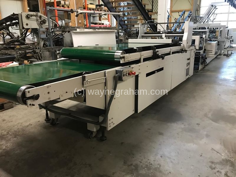 Image of Used Bobst Domino 110-M II Folding Carton Gluer
