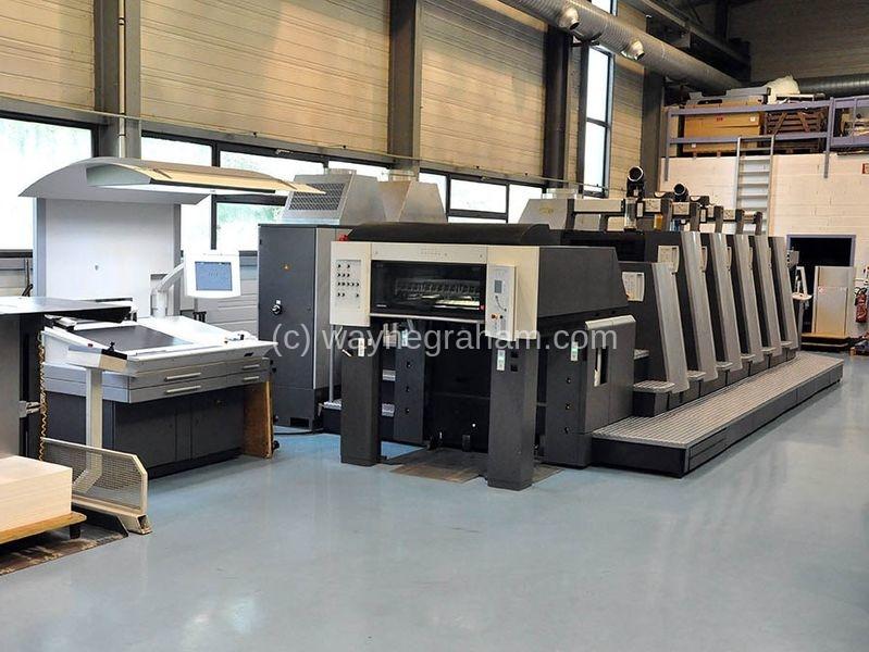 Bild von Gebrauchte Heidelberg SM CD 74-5-L Fünffarbendruckmaschine mit Lackierwerk