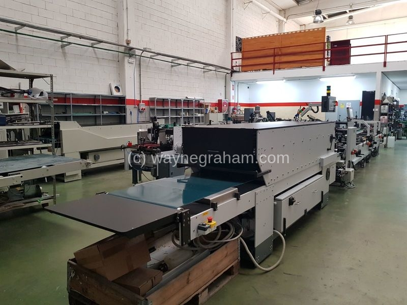 Image of Used Heidelberg Diana ECO 80 Folding Carton Gluer