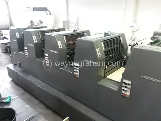 Image of Used Heidelberg GTOFP-S 52 Five Colour Printing Press