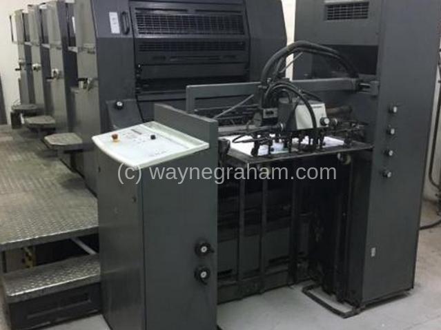 Bild von Gebrauchte Heidelberg Printmaster 74-4 Vierfarbendruckmaschine