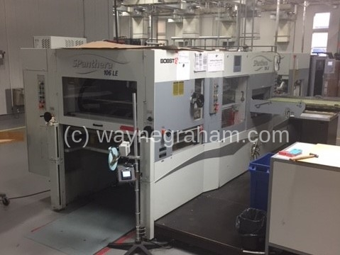 Image of Used Bobst SPanthera 106-LE Die Cutter With Stripping Unit