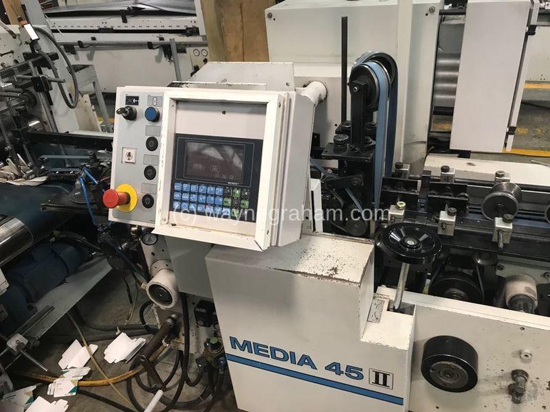 Bild von Gebrauchte Bobst Media 45-II Faltschachtel-Klebemaschine