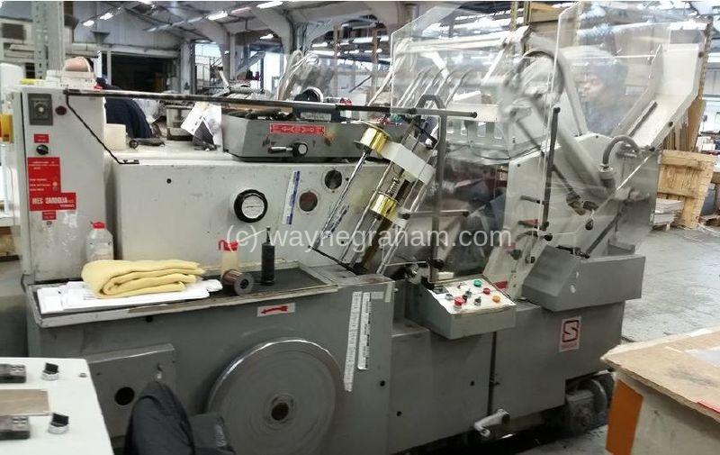 Image of Used Saroglia FUB 74 Hot Foiling Machine
