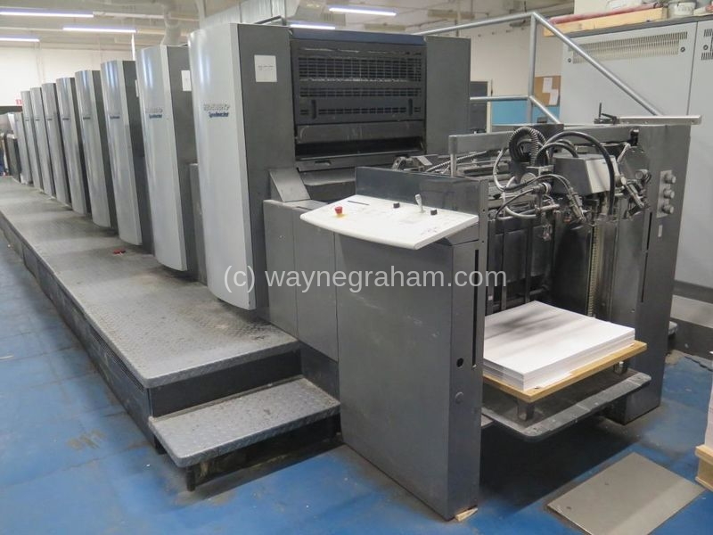 Image of Used Heidelberg Speedmaster 74-8-P-LX Eight Colour Printing Press With Coating Unit