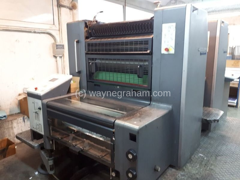Imge of Used Heidelberg Speedmaster 74-2 Two Colour Printing Press