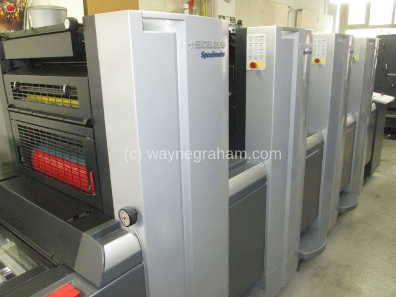 Image of Used Heidelberg Speedmaster SX 52-4 Four Colour Printing Press