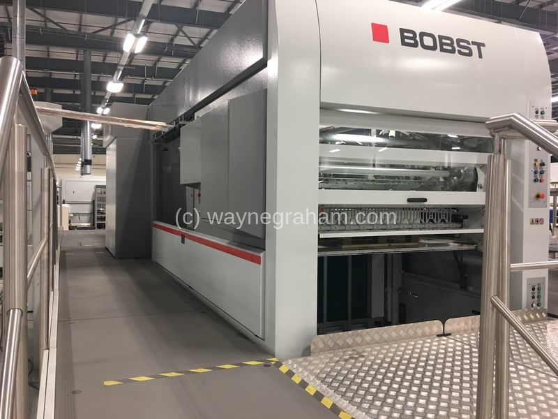 Image of Used Bobst Expertfoil 142 Hot Foiling Machine