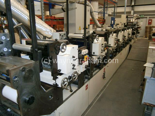 Image of Used Nilpeter B-200 Six Colour Flexographic Web Press