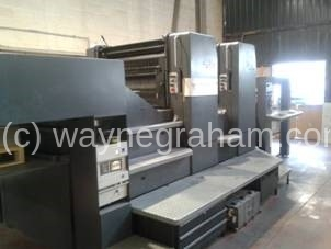 Image of Used Heidelberg Speedmaster 102-2-P Two Colour Printing Press