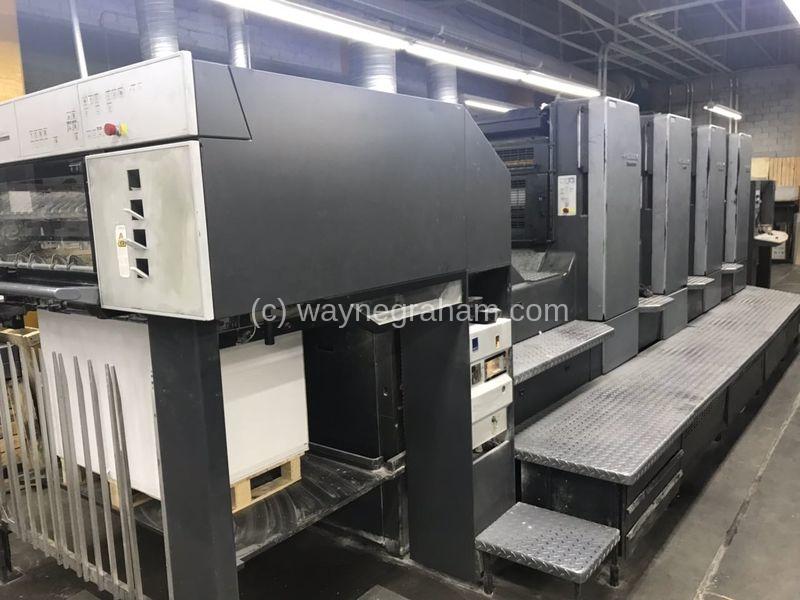 Bild von Gebrauchte Heidelberg Speedmaster CD 102-4 Vierfarbendruckmaschine
