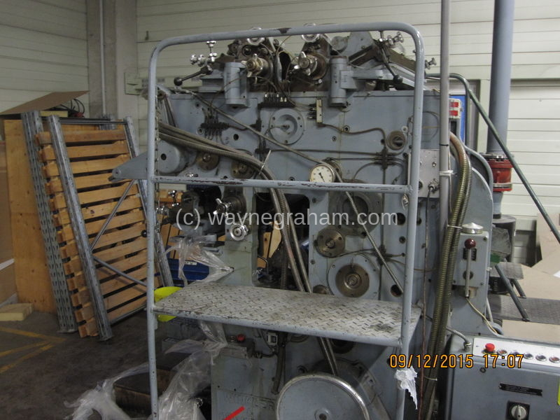 Image of Used Winkler & Dunnebier 134 Envelope Window Patcher