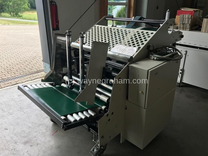 Image of Used Jagenberg Jagfeed Prefeeder For Folding Carton Gluers