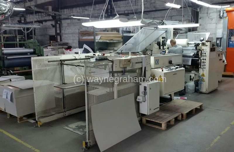Image of Used Paperplast Dry 76 Laminator