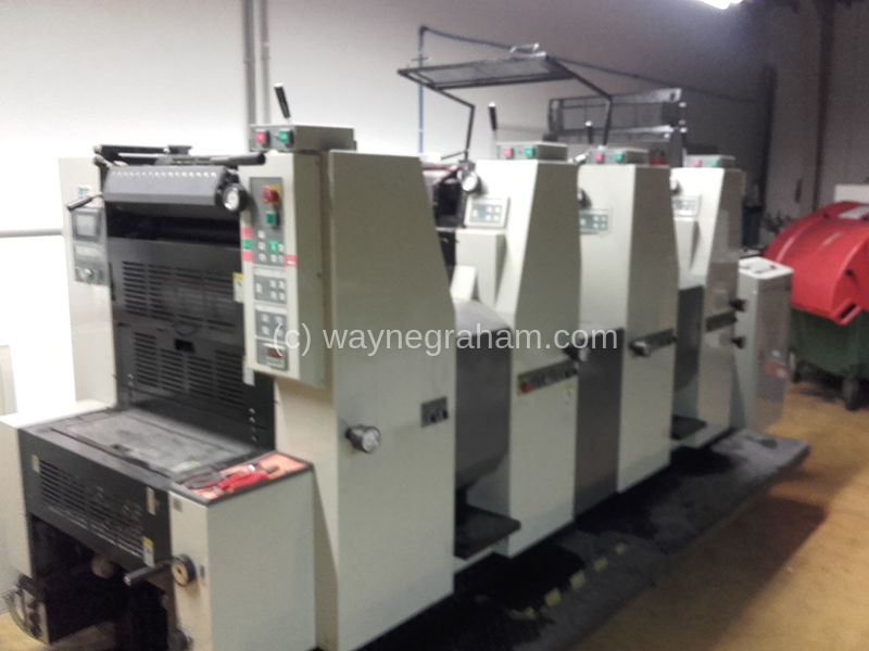 Image of Used Weihai Win 524 Four Colour Printing Press
